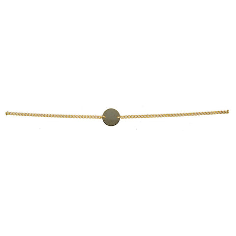 Gold Coin Choker