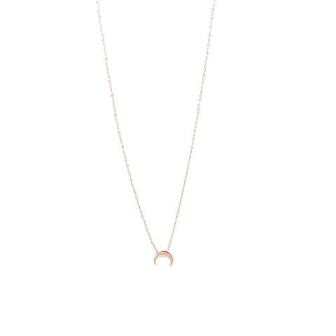 Rose Gold Moon Magic Necklace