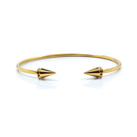 Gold Double Stud Bracelet