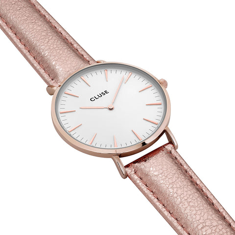 Cluse La Bohème Rose Gold White/Rose Gold Metallic