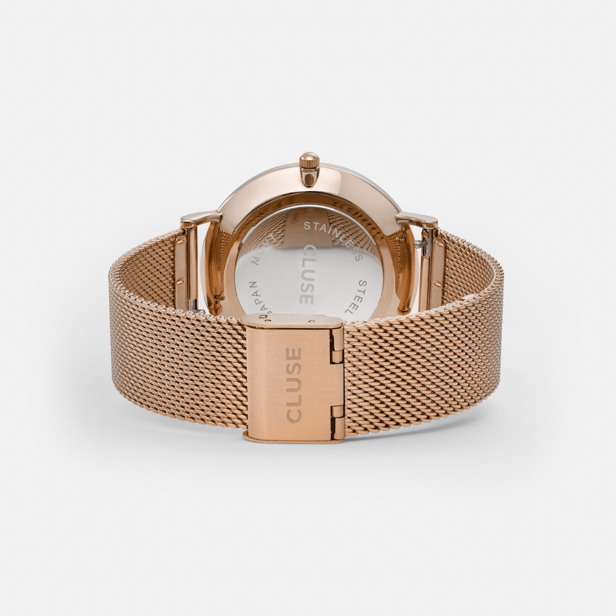 Cluse La Bohème Mesh Rose Gold/White - WATCHES - Cluse - MODESPOT - 4