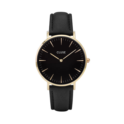 Cluse La Bohème Gold Black/Black - WATCHES - Cluse - MODESPOT - 1