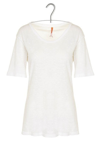 Basic Tee Round Neck White
