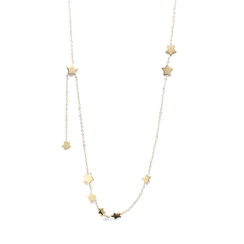 Gold Twinkle Twinkle Star Necklace