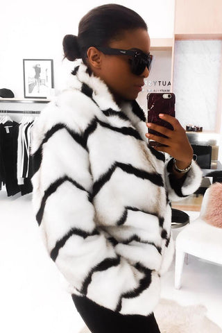 Trisha Faux Fur Coat