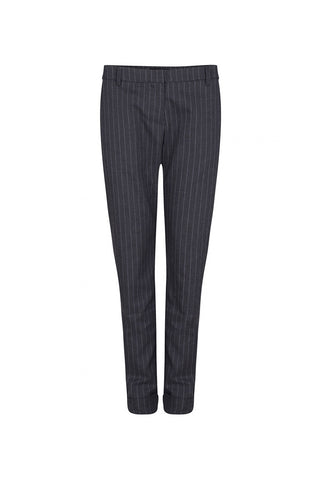 Hazel Trousers Stripped Grey
