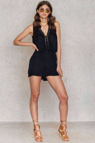 Juni Playsuit Black