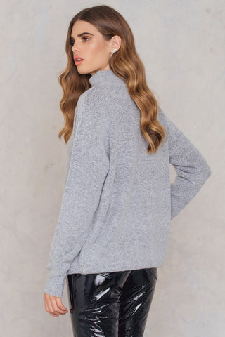 Erica Knit Light Grey