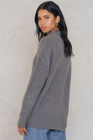 Erica Knit Dark Grey