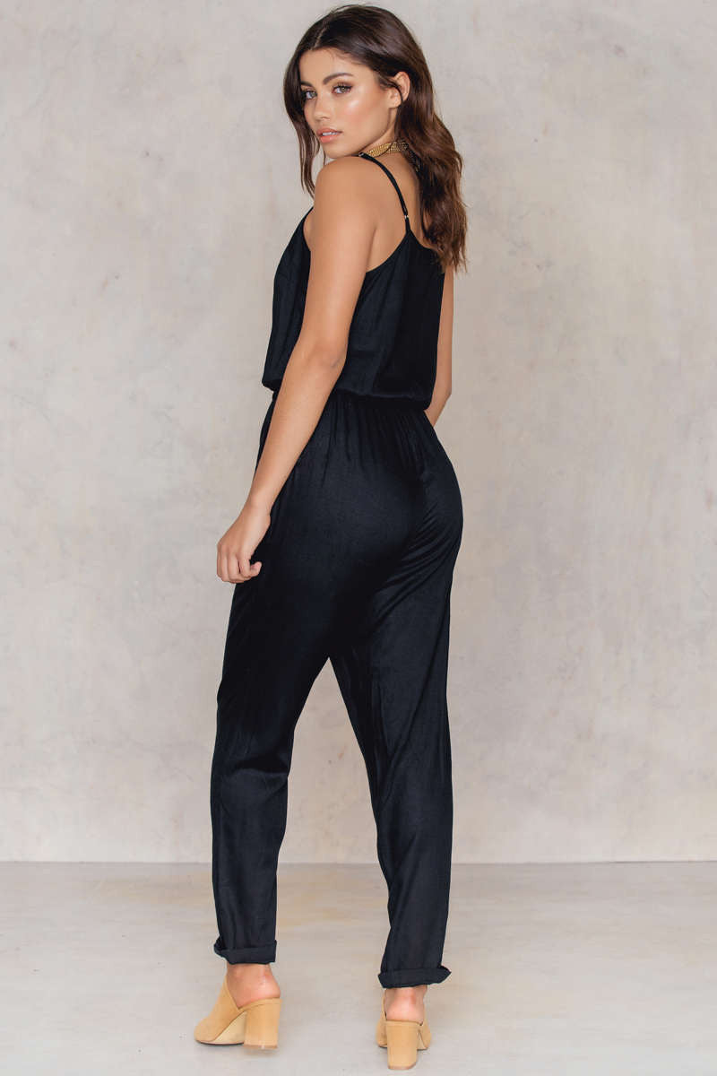 Micken Jumpsuit Full Black