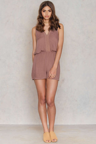Juni Playsuit Canyon Pink