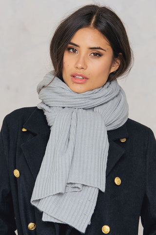 Tinelle Scarf Light Grey