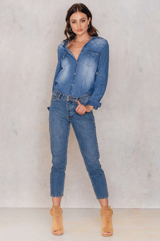 Sofia Denim Shirt