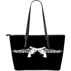 Pistol Wings Leather Tote Large