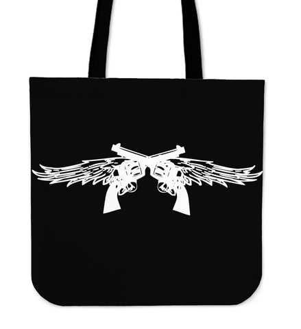 Pistol Wings Tote Bag