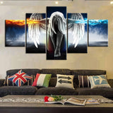 Angel Fire and Ice Canvas Set