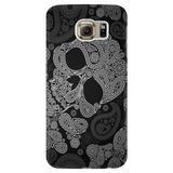 Black Skull Cell Phone Case
