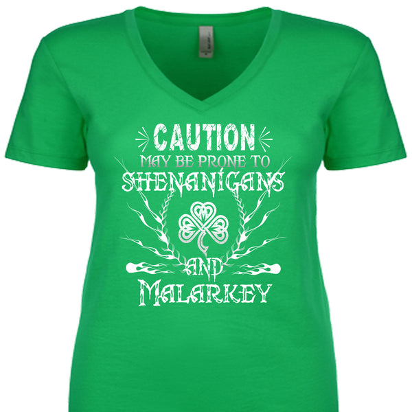 Caution May Be Prone To Shenanigans And Malarkey
