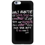 Only Auntie Cell Phone Case