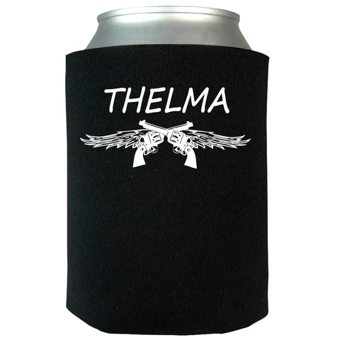 Thelma and Louise Can Koozie