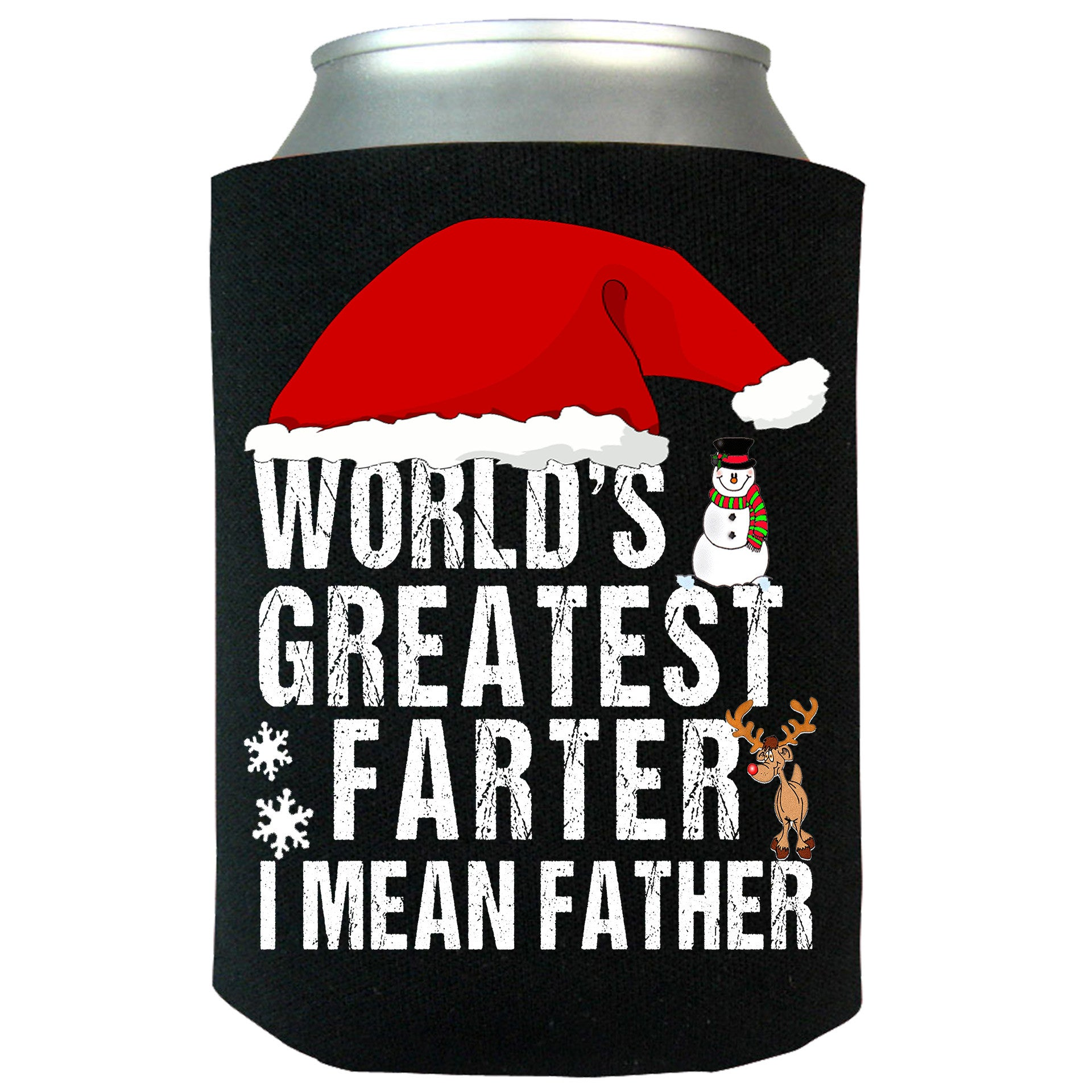 World's Greatest Farter I Mean Father Can Koozie