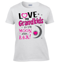 Love My Grandkids To The Moon And Back