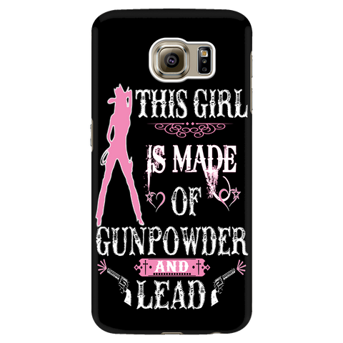 Gunpowder and Lead Cell Phone Case
