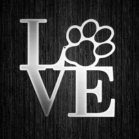 Dog Paw Love