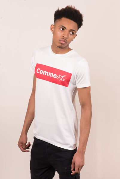 Comme Moi Ternion Red T-shirt