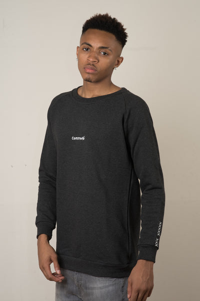 Essentials Sweatshirt - Charcoal - CommeMoi