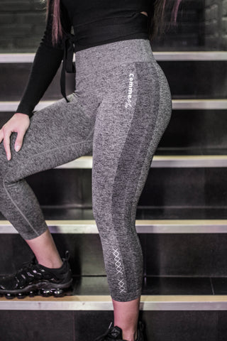 Sonder Cropped Leggings - Grey