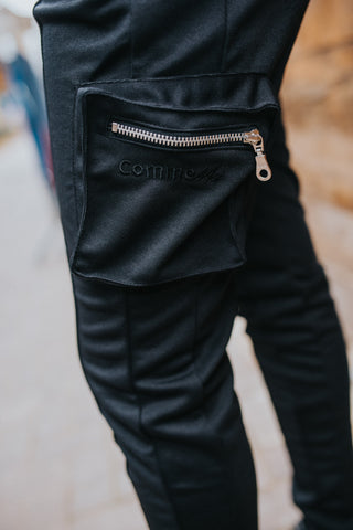 Ore Cargo Pants - Black - CommeMoi