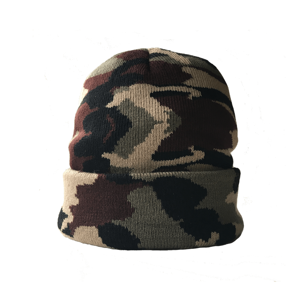 f4d8135cea1  camo jacquard knit beanie - Laundry Tribe - Accessories