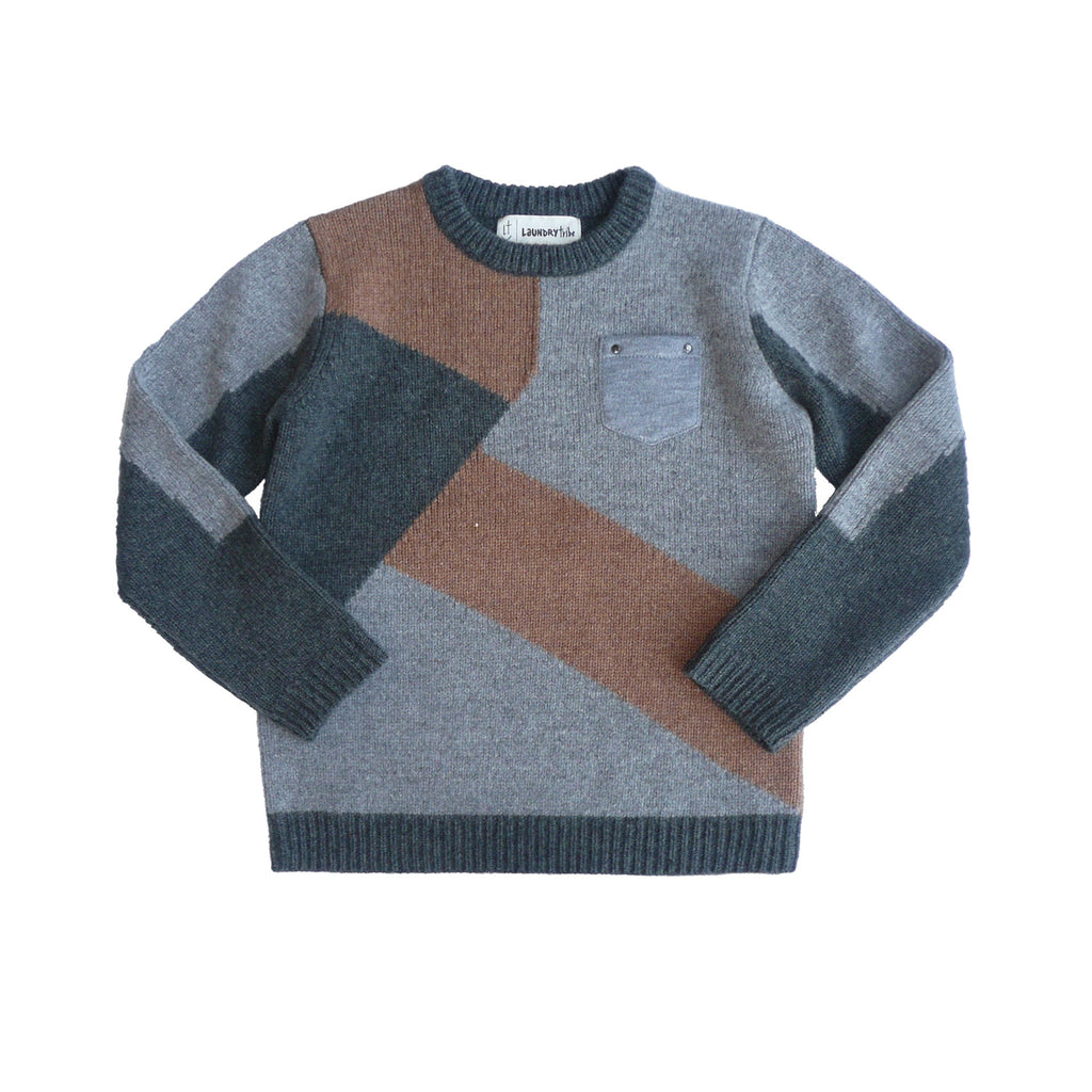 380b412385a lambswool colour block pullover - Laundry Tribe - Knitwear