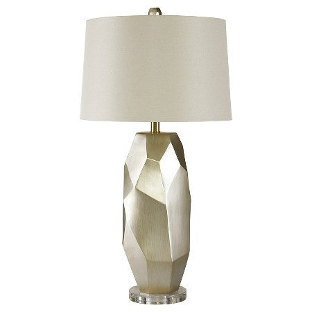 Darda Silver Table Lamp