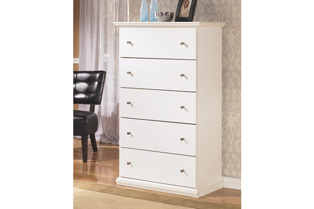 The Bostwick Five Drawer Tall Chest