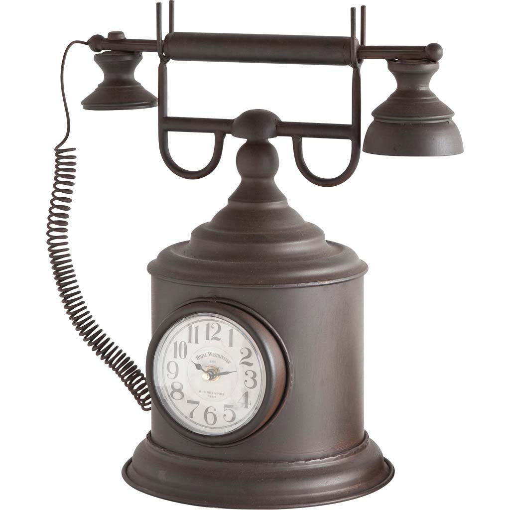 Harlequin Retro Phone/Clock