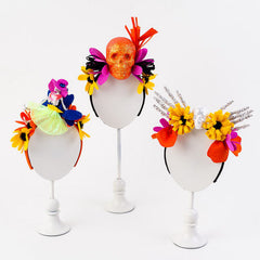 Colorful Skull Headbands