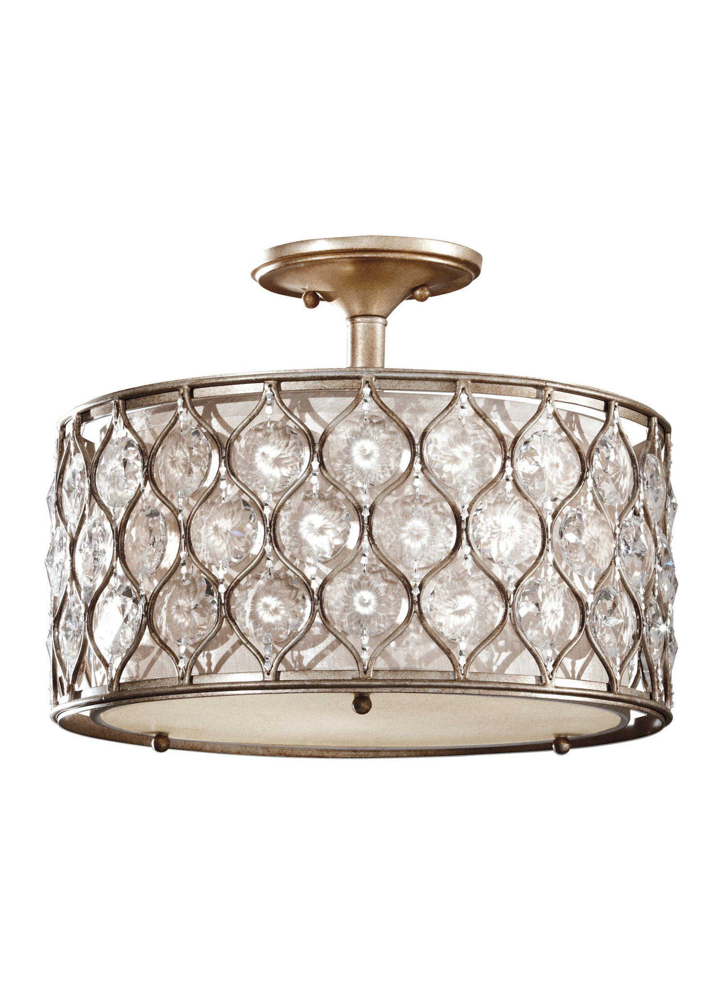 Lucia Semi-Flush Bling