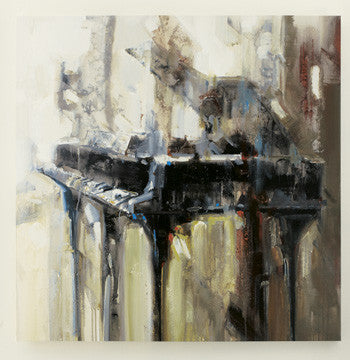 Abstract Piano Giclee Artwork