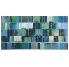 Blue Tile Mosaic