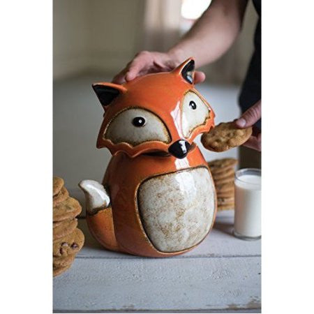 Fox Cookie Jar