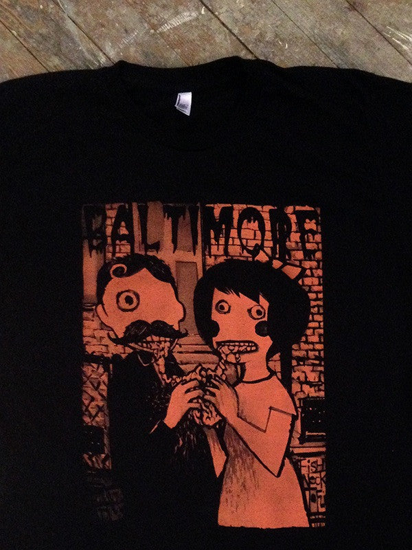 Baltimore Gothic Tees from Nouveau Baltimore. Contact us for more information.