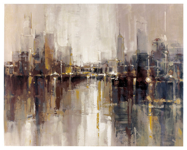 Barid Abstract Cityscape Artwork