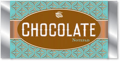Chocolate Bar Notepad