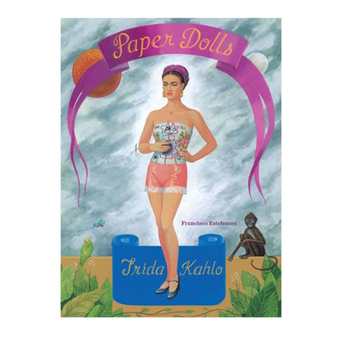 Frida Kahlo Paper Doll Book