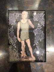 "Grace Gunning Reliquary Box - ""David Nude"" Box"