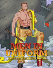 Men in Uniform Coloring Book