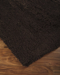 Dark Brown Alonso Shag Rug