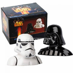 Darth Vader and Stormtrooper Salt and Pepper Shakers